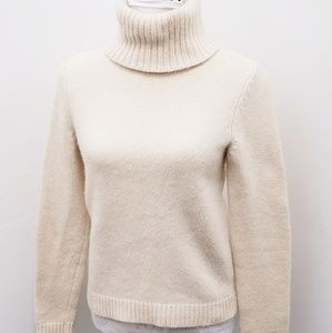 RALPH LAUREN Wool Blend Turtleneck Sweater